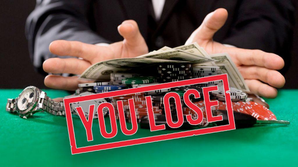 5 พฤติกรรมไม่ดีที่ทำให้นักพนันเสียเงิน